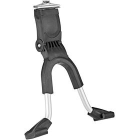 Hebie dubbele standaard Fietsstandaard 24-29 inch met extra brede voet zwart